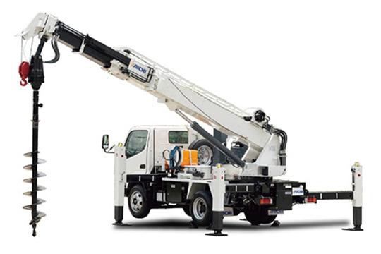 建柱車型掘削工法
