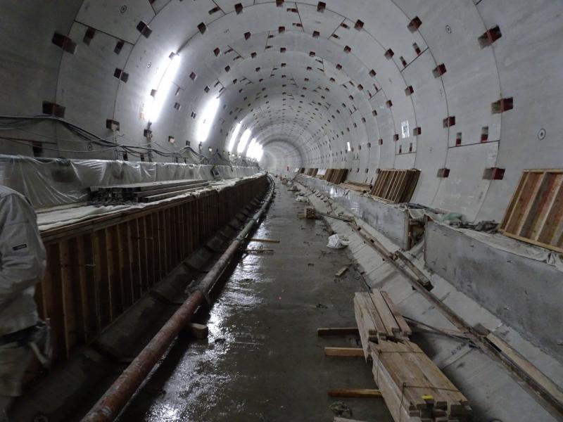 福岡市地下鉄七隈線工事